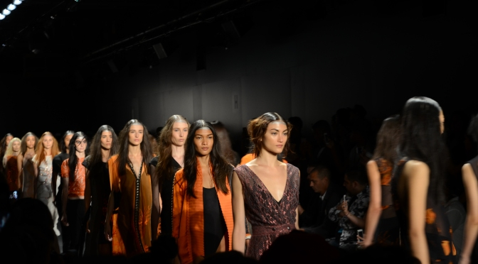 Fashion Week NYC : Francesca Liberatore